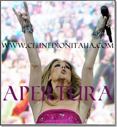 Apertura CélineDionItalia.com