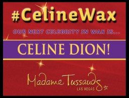 Celine Dion in cera per Madame Tussauds