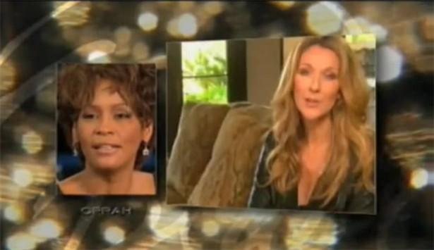 Celine da Oprah: 'bentornata Whitney'