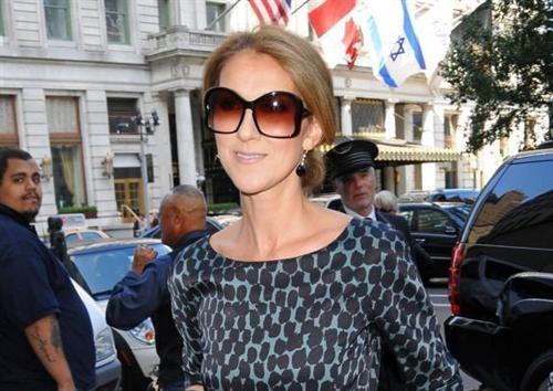 Celine Dion, New York, 13 ottobre 2009