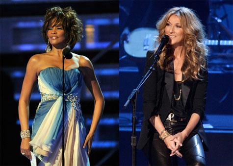 Whitney e Celine