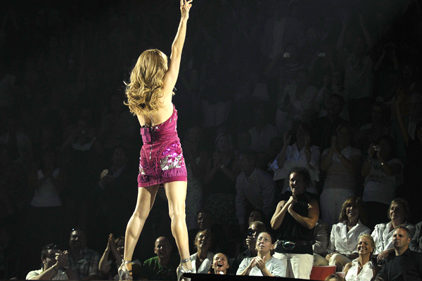 Celine Dion a Montreal