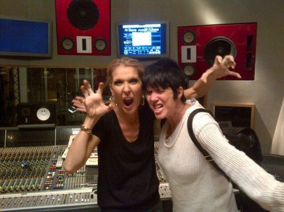 Celine Dion with Diane Warren
