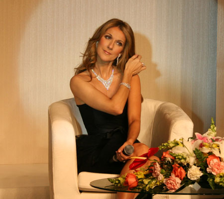 Celine Dion in China