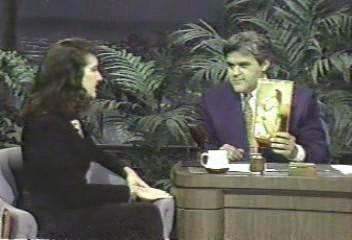 Celine e Jay Leno, 1992