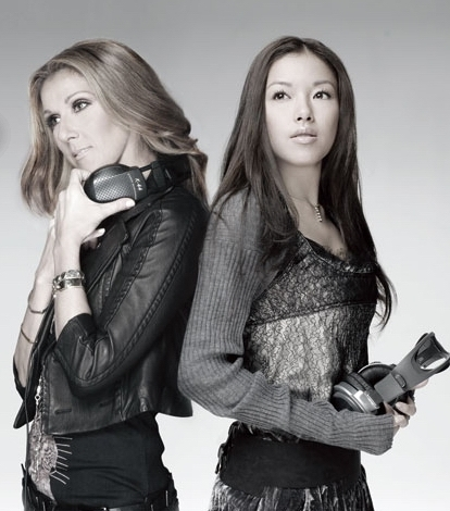 Celine Dion and Yuna Ito