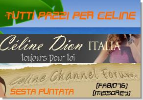 Sesta Puntata di Tutti Pazzi Per Celine, oggi protagonisti Fabio76 e Missgrey.