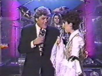 Celine e Jay Leno, 1993