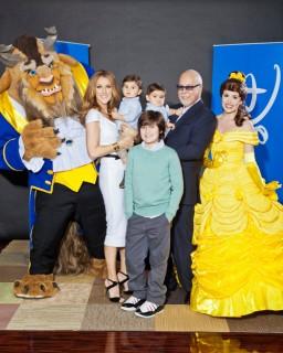 Celine promoziona 'La Bella e la Bestia 3D'